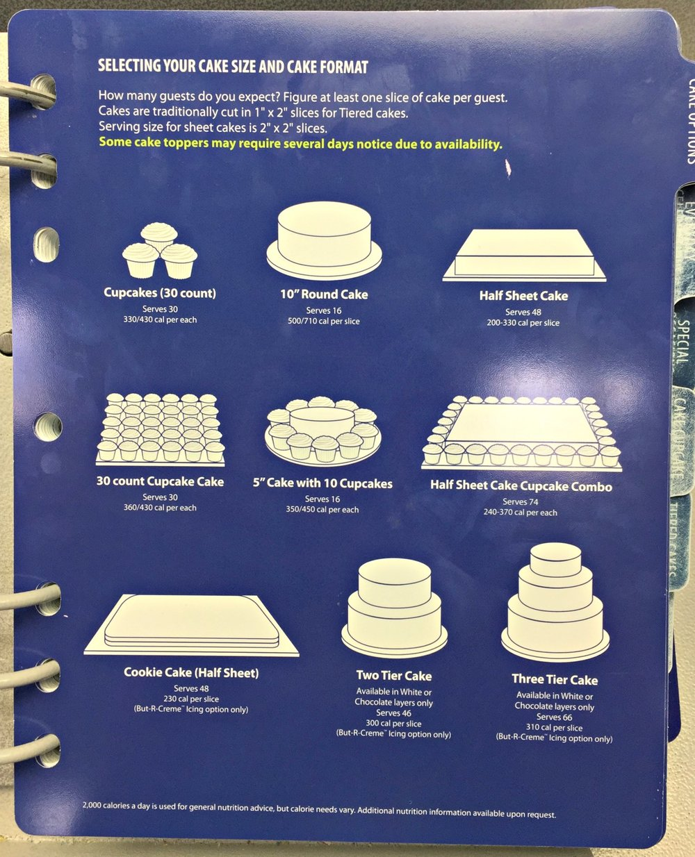 Sam Club Bakery Sheet Cake Prices