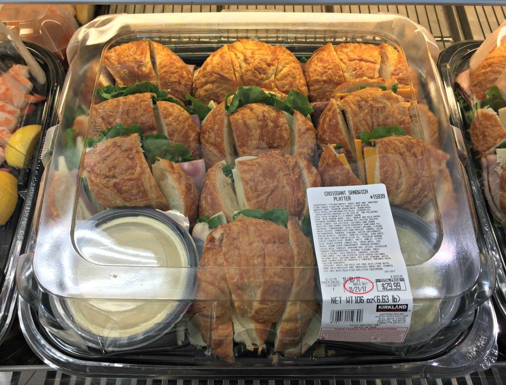 Sandwich Platter from Costco