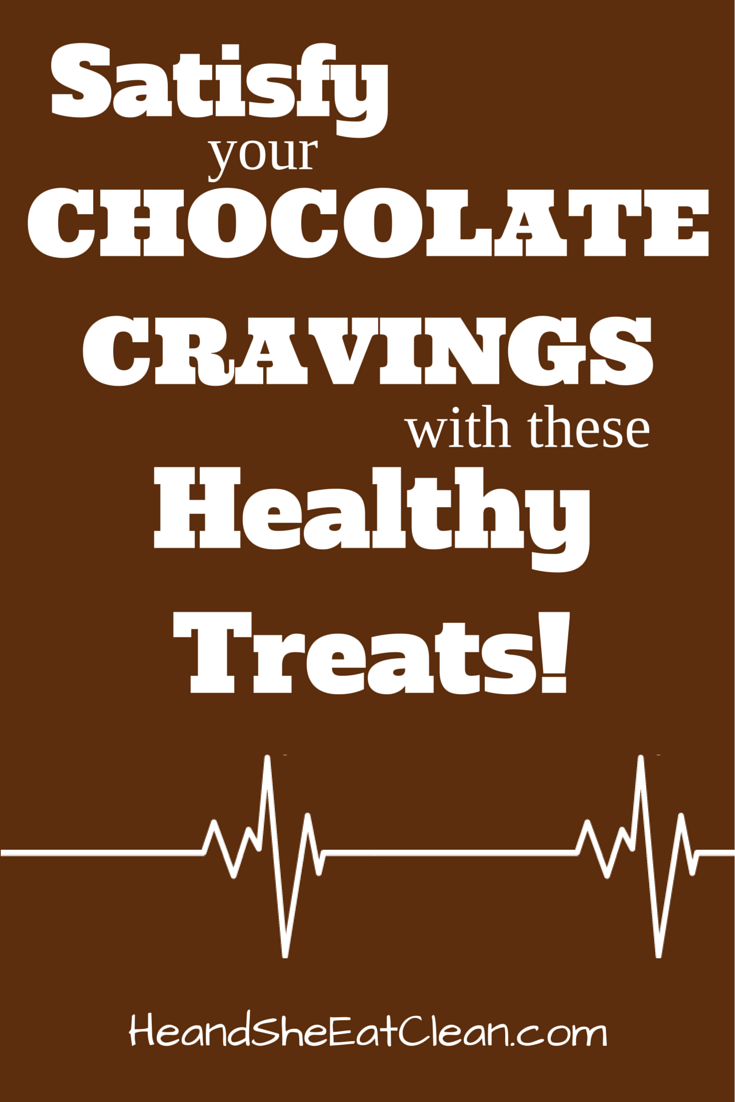 Satisfy your Chocolate Cravings with these Healthy Treats!