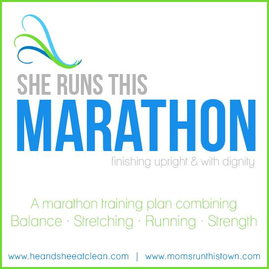 She Runs This Marathon FREE Training Calendar | He and She Eat Clean