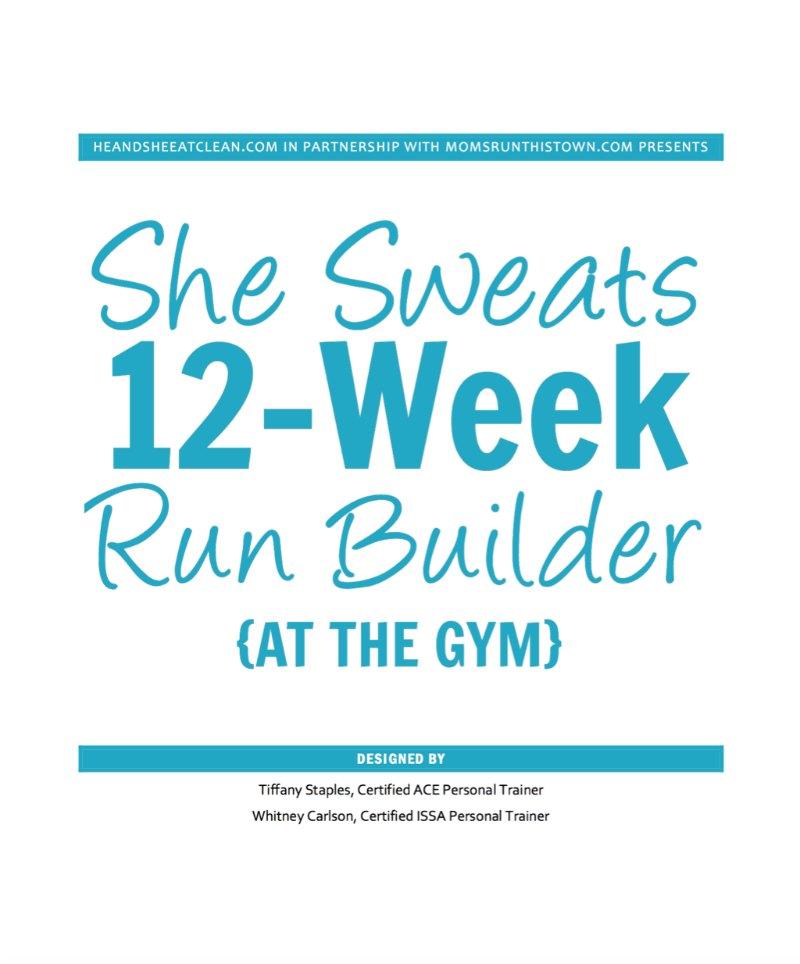 She Sweats 12-Week Run Builder