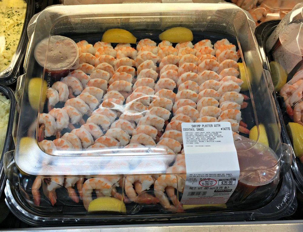 Shrimp Party Platter from Costco