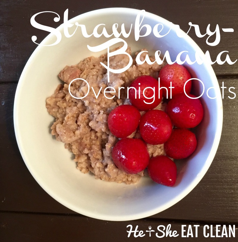 Strawberry-Banana Overnight Oats