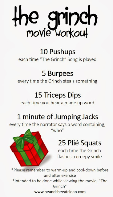 The Grinch Movie Workout