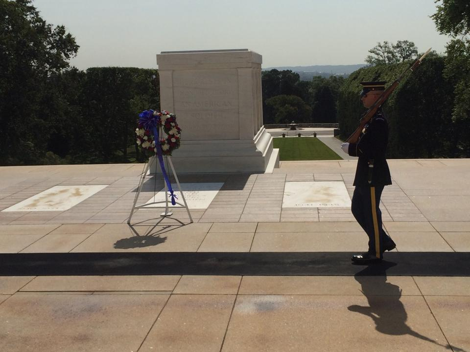 Tomb of the Unknown Soldier   He and She Eat Clean