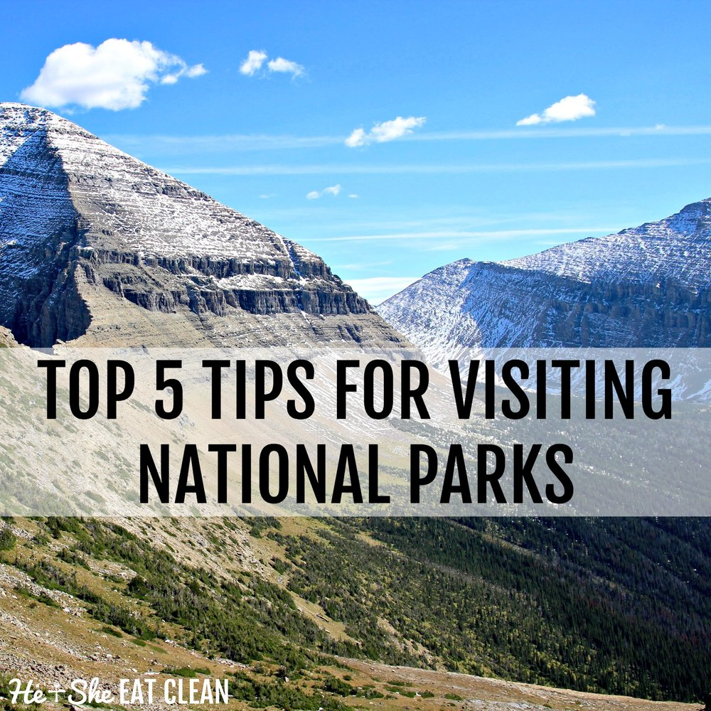 Our Top 5 Tips for Visiting National Parks