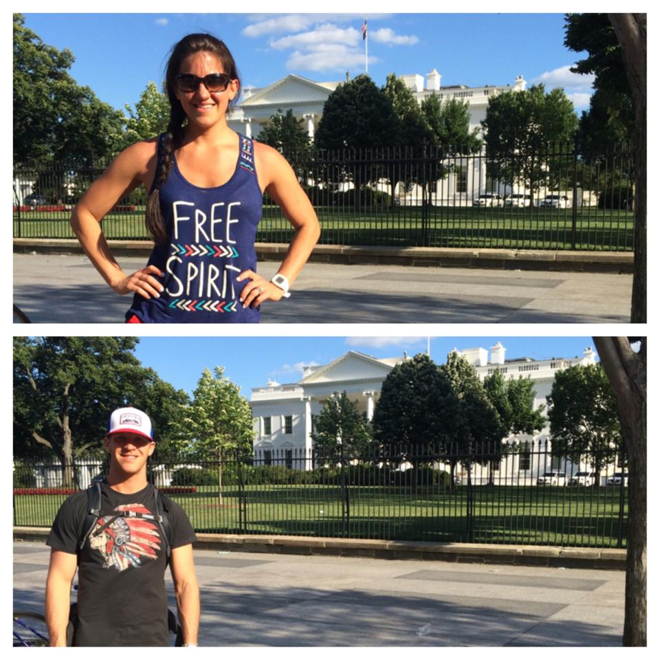 Washington DC - White House | He and She Eat Clean