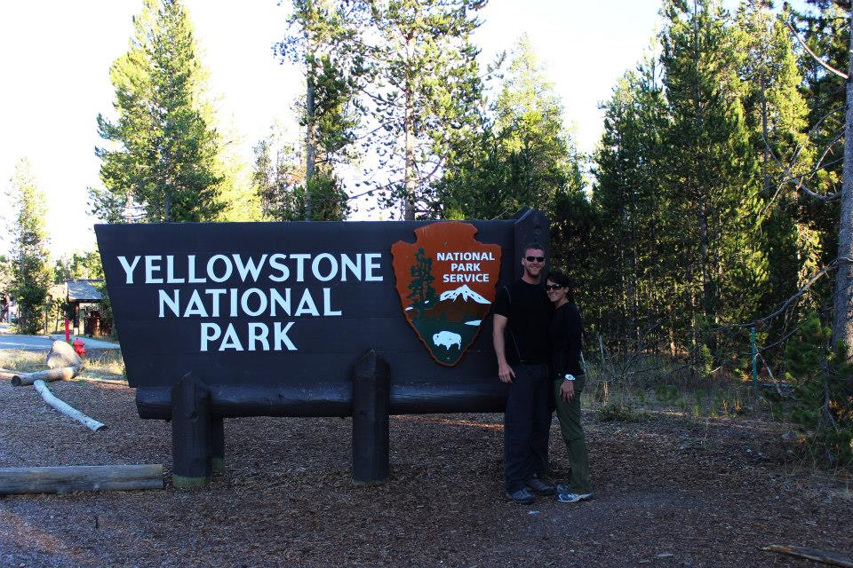 Hiking in Yellowstone National Park | He and She Eat Clean