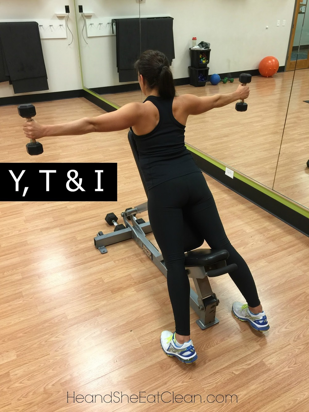 Y, T & I Shoulder Exercise | He and She Eat Clean