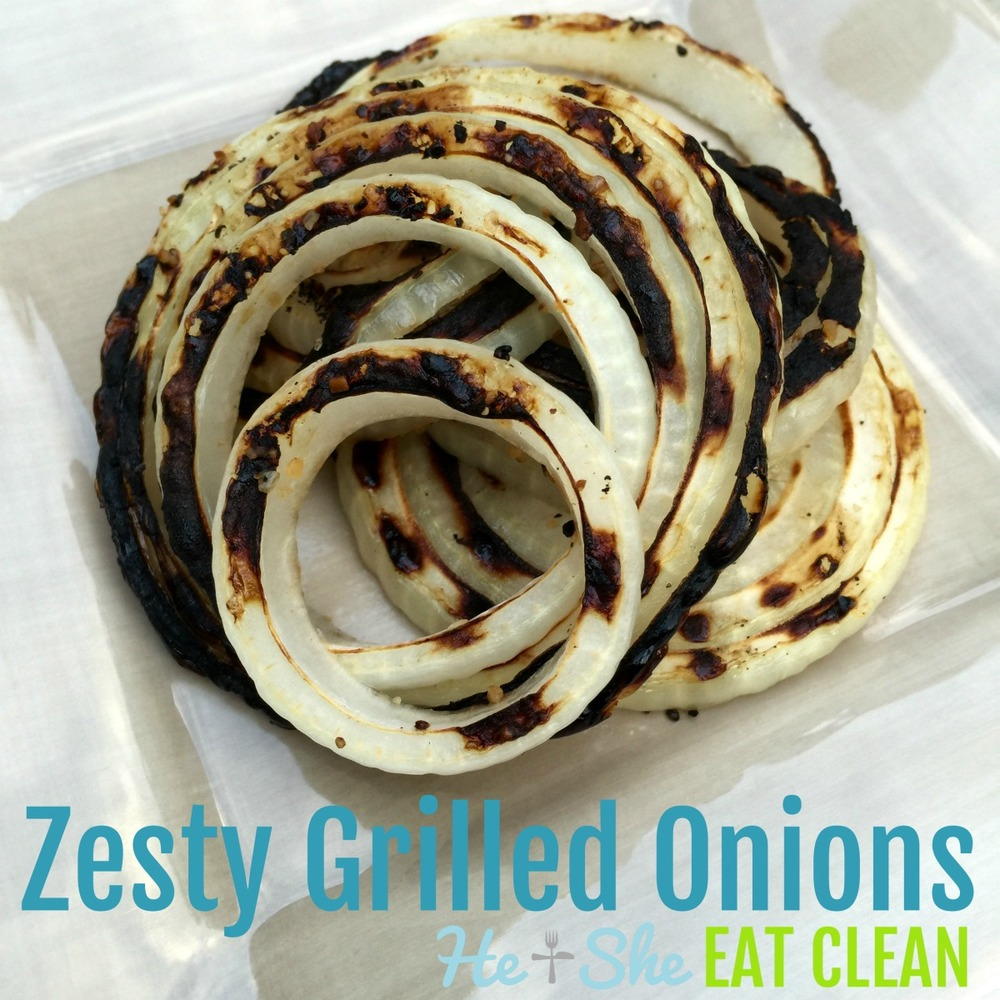 Zesty Grilled Onions
