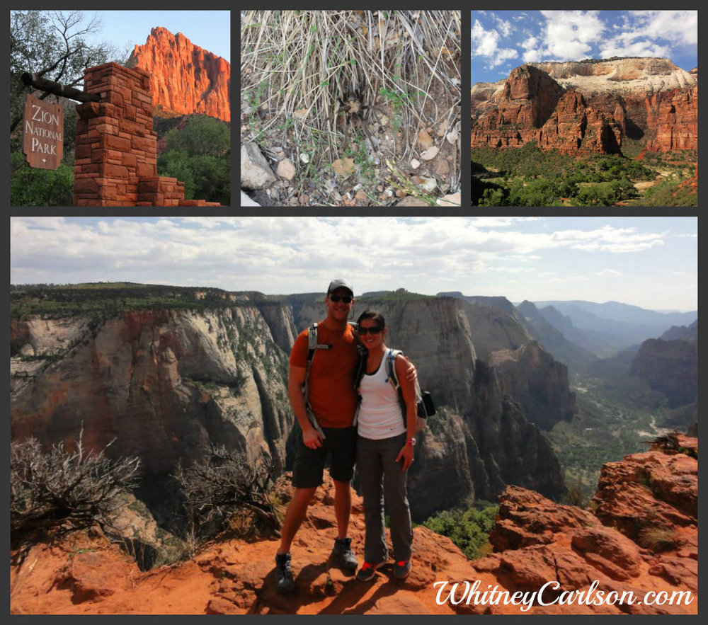 Hiking in Zion National Park in Utah | He and She Eat Clean