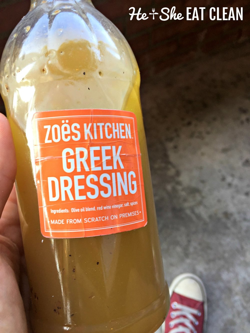 Zoes Kitchen Greek Dressing