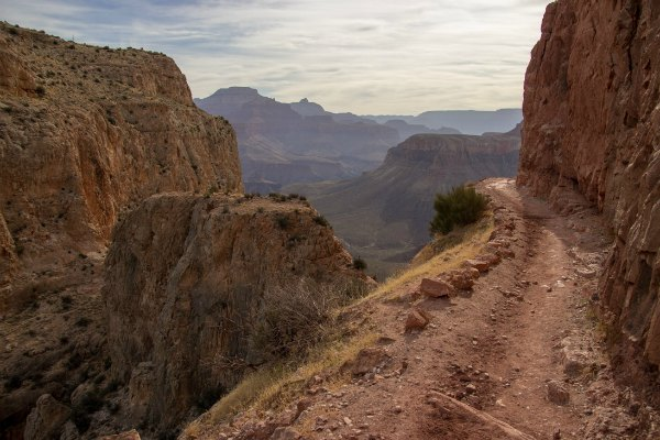 trail on the Grand Canyon
