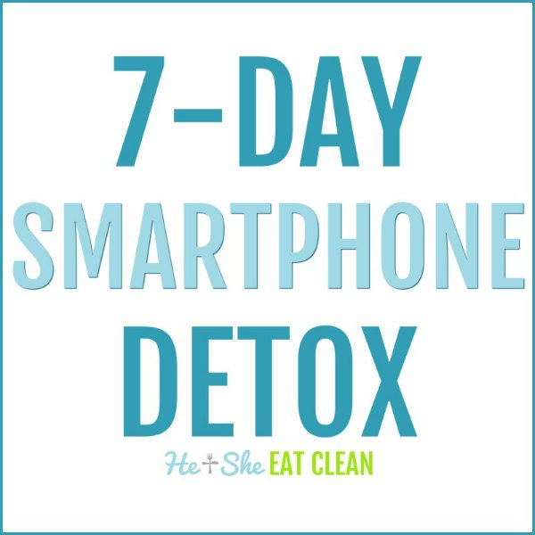 text reads 7-Day Smartphone Detox