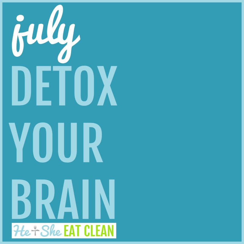 July Detox Your Brain Challenge