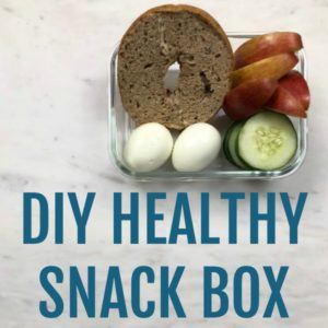 DIY Healthy Snack Boxes