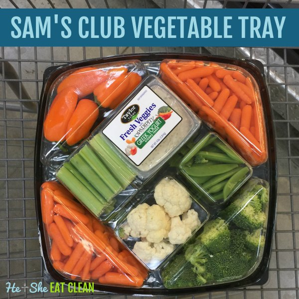 Sam's Club Vegetable Tray