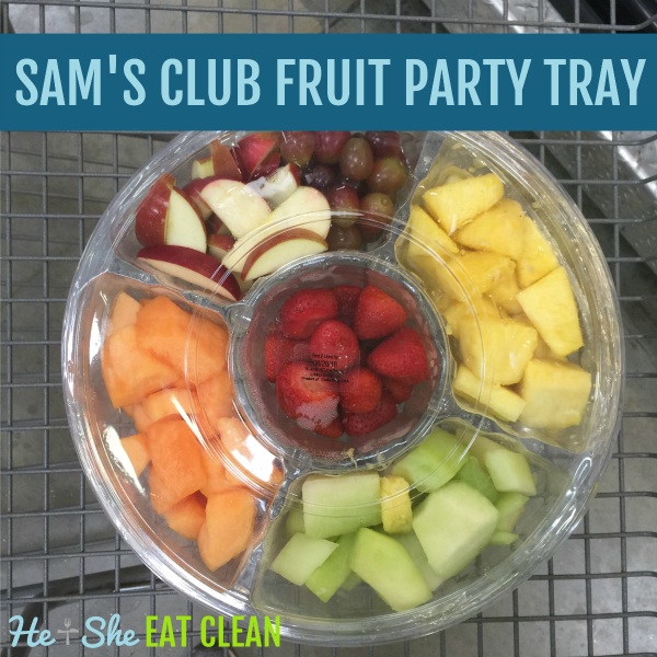 Sam's Club Fruit Party Tray