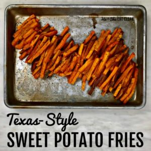 Texas-Style Sweet Potato Fries