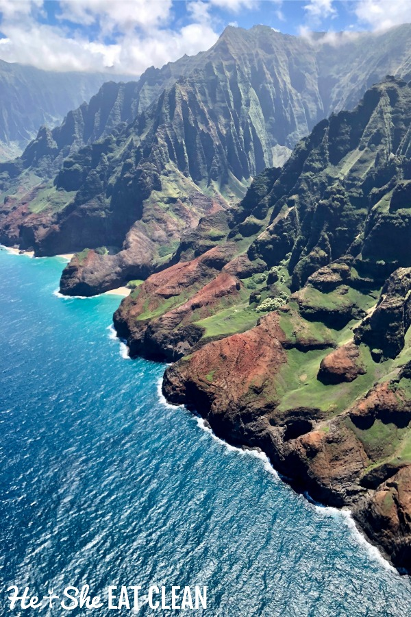 photo of Nāpali Coast in Kauai, Hawaii
