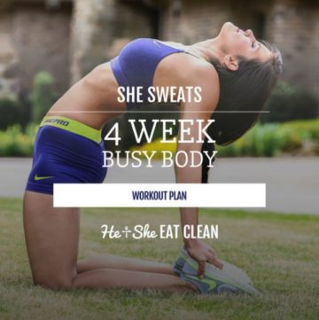 She Sweats 4-Week Busy Body Workout Plan