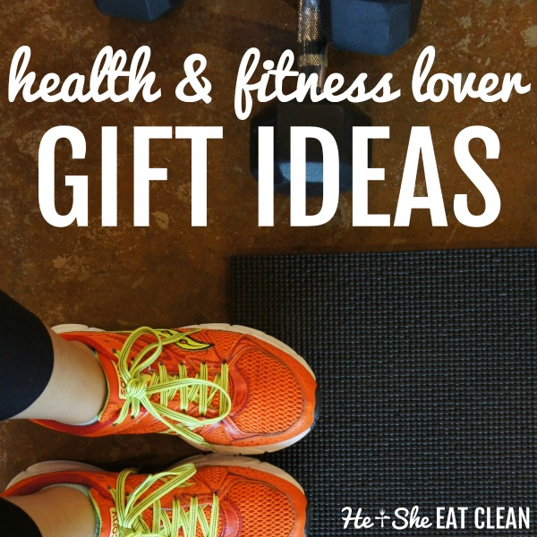 text reads health & fitness lover gift ideas