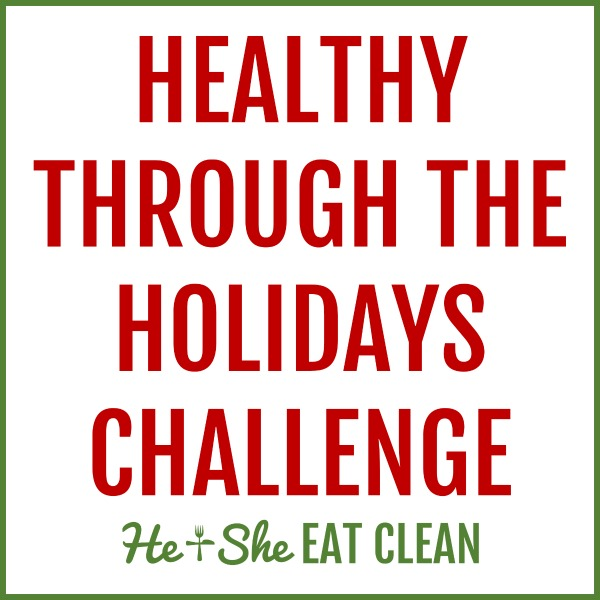 Healthy Through the Holidays Challenge