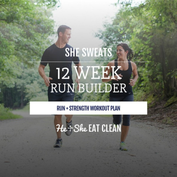 She Sweats 12-Week Run Builder Workout Plan