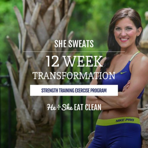 She Sweats 12-Week Transformation Workout Plan