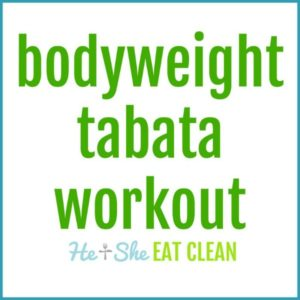Bodyweight Tabata Workout square image