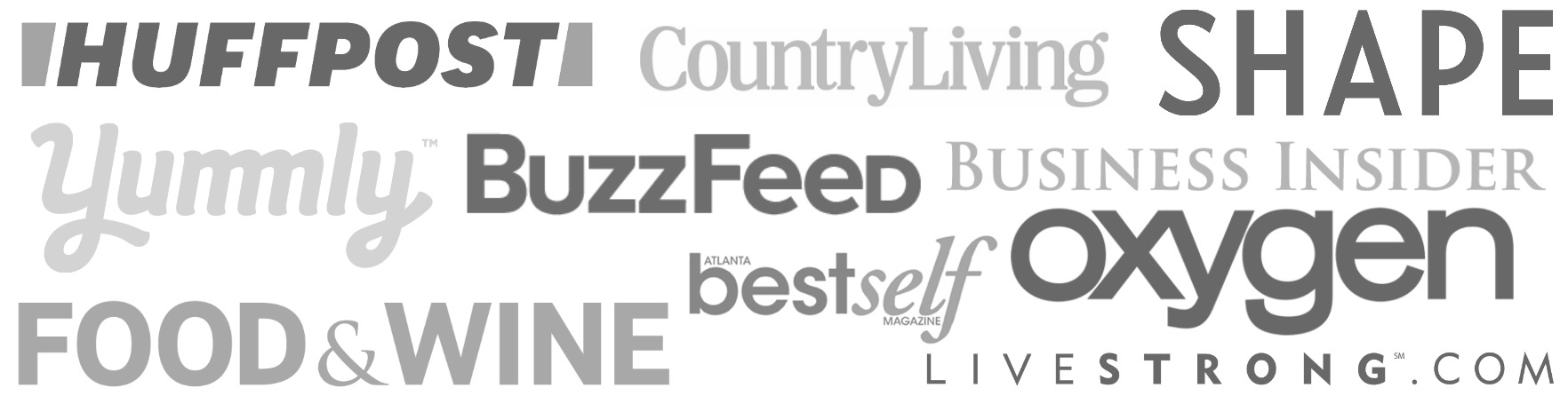 gray magazine logos that the website has been featured in