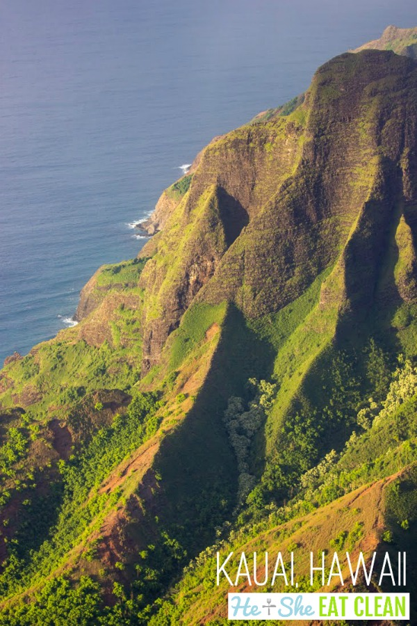 Airplane Trail a Kauai, Hawaii