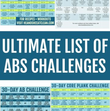 ultimate list of abs challenge square photo
