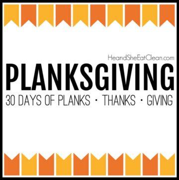 Planksgiving challenge image