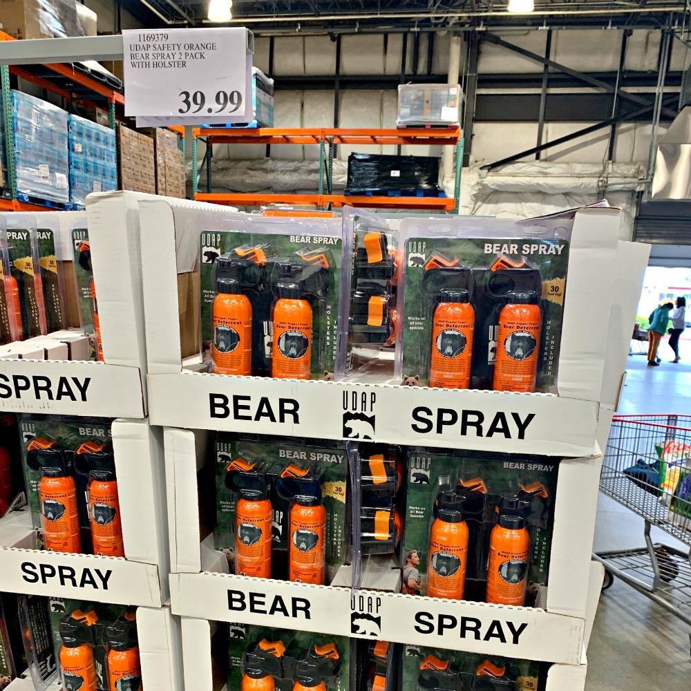 bear spray for sale at Costco in Alaska