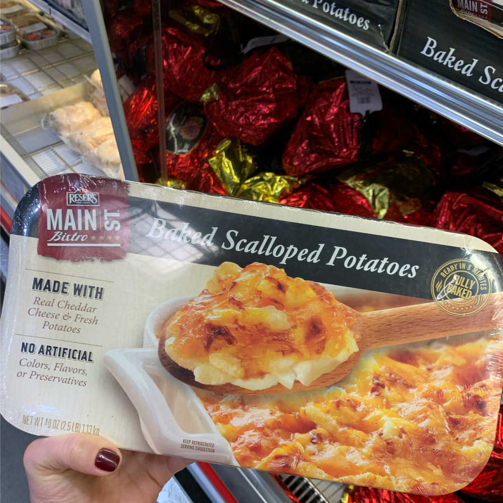 Baked Scalloped Potatoes from Costco