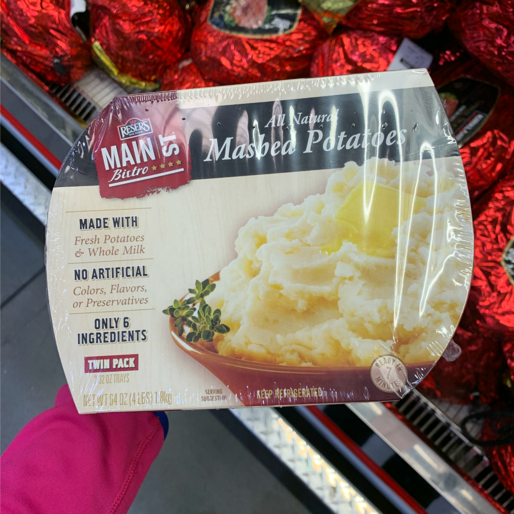 All Natural Mashed Potatoes from Costco