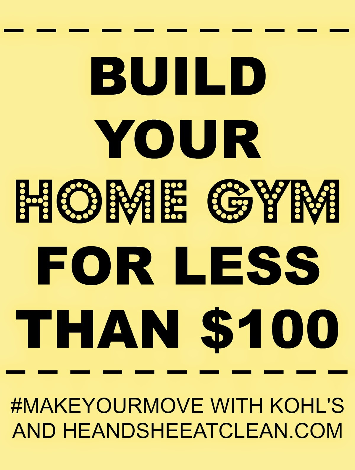 Build your home gym for less than 100 full body at home for Build a new house for 100 000